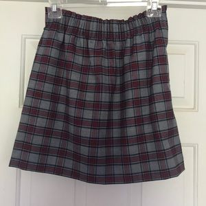J. Crew Factory Plaid Sidewalk Skirt